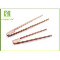 Best Customized House Kitchen Wares Wooden Reusable Bamboo Toast Tongs Cooking Utensils wholesale