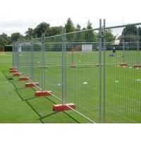 Best Orange Customized Temporary Fence Panels For Environmental Protection Areas wholesale