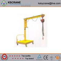 Best High Performance 500kg Lifting Movable Jib Crane For Sale wholesale