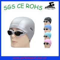 Cheap Beautiful PU swimming caps,pu swim cap for sale