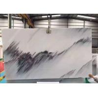 Best Half  Style Blue Sky Marble Stone Slabs For Wall Background Beautiful Surface Appearance wholesale