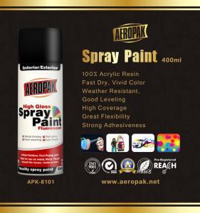 Best Odourless Aerosol Spray Paint 10oz Rich Metallic Finish Interior Exterior wholesale
