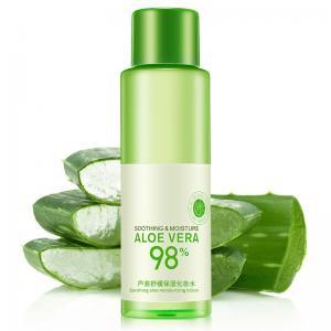 Best 120ml Aloe Vera Gel Toner 92% Essence Effectively Nourish Skin Improve Rough wholesale