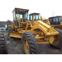 CAT 12G motor grader Used Caterpillar 15 ton road grader