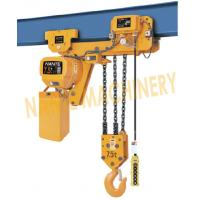 Best 7.2 m / Min Max Lifting Speed 10 Ton Electric Chain Hoist For Single / Double Speed wholesale