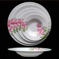 China Melamine Round Soup Plate, Sizes from 6 to 11 Inches, Over 800 Melamineware Items for Selection on sale
