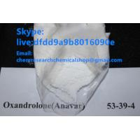 China best price Male Injectable Anabolic Fast Muscle Gain Steroids buy  Oxandrolone Anavar Steroids CAS 53-39-4 on sale
