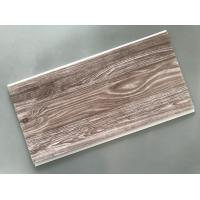 Best Recyclable Brown PVC Wood Panels Easy Maintenance 2.5kg/Sqm - 3kg/Sqm wholesale