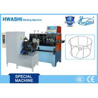 Best Iron Wire Butt Welding Machine New Condition Welding Ring / Square Wire Frame wholesale