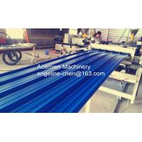 Best durable high strength PVC color steel roof tile machine/production line wholesale