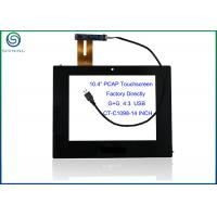 China 10.4 Inch USB Projected Capacitive Touch Screen With Controller For Touch Industrial Device on sale