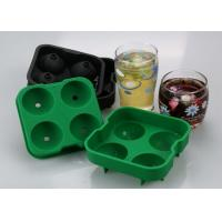 """Best Food Grade Material Ice Tray Silicone With 4x1.8"""" Ball Capacity wholesale"""