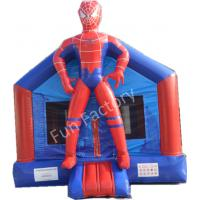 Best Kids Child Inflatable Bounce House , Inflatable Carton House Indoor Kid Fun Game wholesale