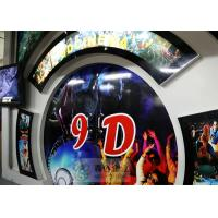 Cheap Beautiful 5D Movie Theater With Motion Chair , Digital Control System for sale