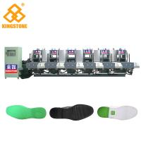 Best Automatic 1-2 Color Rubber Sole Making Machine With Auto Inter - Lock Protection System wholesale