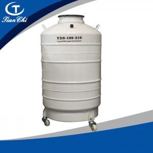 Best TianChi Liquid Nitrogen Biological Container 100L Aviation Aluminum Tank Price wholesale