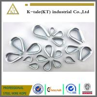 China factory Electric Galvanized thimble hardware rigging/high quality galvanized thimble for rigging  wire rope sling