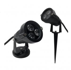 Best IP40 round D95mm black 45degree lens indoor 1x3W LED gardenl lights for hotel wholesale