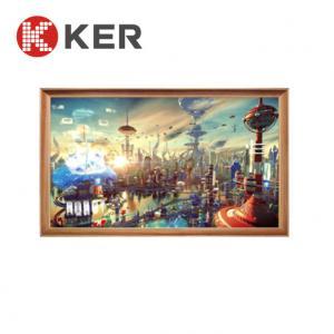 Best 1GB RAM Outdoor Digital Signage 21.5'' LCD Digital Photo Wooden Frame wholesale