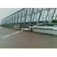 Best Portable Railroad Steel Truss Bridge Temporary Simple Structure Supporting Light Gray wholesale