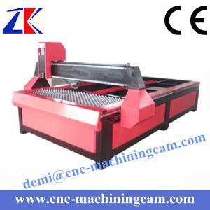 Best cnc plasma cutting machine ZK-1325(1300*2500mm) wholesale