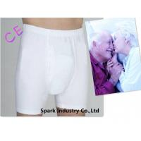 China Cotton Adult Washable Incontinence Briefs With Pad For Men on sale