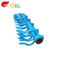 Cheap Electrical Water Boiler Header Manifolds High Pressure , Heating Manifold for sale