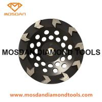 Best Cup shaped diamond grinding wheel with arrow segment wholesale