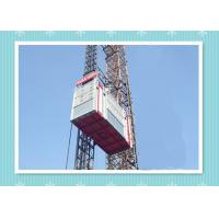 China Personnel And Material Construction Elevator Hoist In Single And Twin Cage on sale
