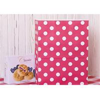 Best Red Dots Paper Packaging Bags with Handle Gift Bags 8x4.75x10.5 inch Shopping Bag wholesale