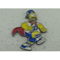 Buy cheap Brass Die Stuck Softball Pins , Zinc Alloy Promotional LA Baseball Pin from wholesalers