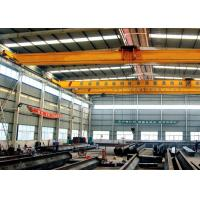 Buy cheap Single Beam Travelling Overhead Crane , Low Headroom Bridge Crane With End Carriages from wholesalers