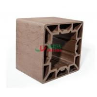 Best High Density Wpc Profile 200 * 200mm , Plastic Composite Lumber Rotproof wholesale