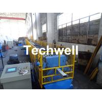 Best 0.4-0.8mm Downspout Machine for Making Steel Rectangular Downpipe with Saw Cutting wholesale