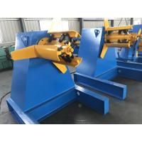 Best 3 Phase Sheet Metal Decoiler , Coil Roll Forming Machine Easy Operation Energe Saving wholesale