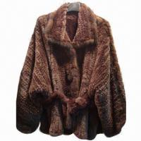 China Women's Knitted Rex and Mink Coat, OEM Orders are Welcome on sale