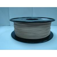 Cheap Brown Materia 0.8kg / Roll 3D Printer Wood Filament 1.75mm 3mm for sale