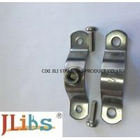 Quality Flexible Coupling Pipe Clamp Bracket , Iron Pipe Clamp For Water Pipeline wholesale