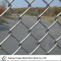 Buy cheap Diamond Wire Mesh Fence |with Knuckle/Horizontal/Twist Type by Galvanized/PVC Coated from wholesalers