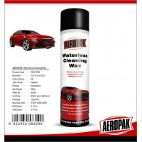 Best Glossy Finish Car Interior Cleaning Products Spray Wax For Cockpit / Dashboard wholesale