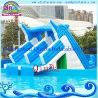 Inflatable Water Slides For Sale: Details Of Giant Lake Inflatable Water Slide For Sale
