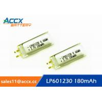 Best 601230pl 601230 3.7v 180mAh li-polymer battery for bluetooth headset, messager wholesale