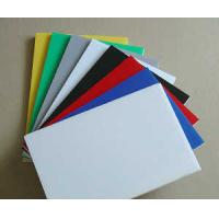 Best SC Extruded Industrial Engineering Plastics , Assorted Colorful POM Sheet wholesale