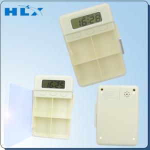 China Multiple Alarm Timer Digital Pill Box Timer on sale