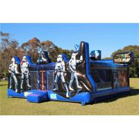 China Fire Retardant Star Wars Inflatable Bouncer Jumping Castle With Customized Size on sale