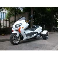 Buy cheap 8HP Tri Wheel Motorcycle , Electric Start 150cc Scooter With Windshield from wholesalers