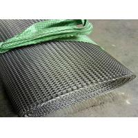 Cheap Customized Size SS Wire Mesh / Chain Conveyor Belt Per Roll Non - Toxic for sale