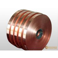 Best CuNi2Si Copper Sheet Metal Strip , Flat Copper Sheets Good Cold Machinability wholesale