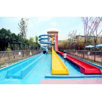 Best Stimulating Fiberglass High Speed Water Play Equipment Water Park Slide Customized For Adult wholesale