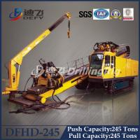 Best 248 Ton Pull Capacity DFHD-245 Trenchless Laying Pipe HDD Rig Machine wholesale